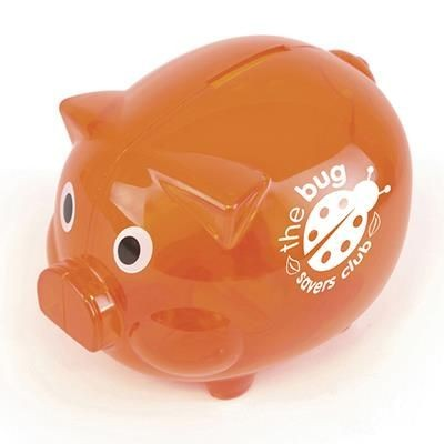 Picture of PIGGY BANK in Amber