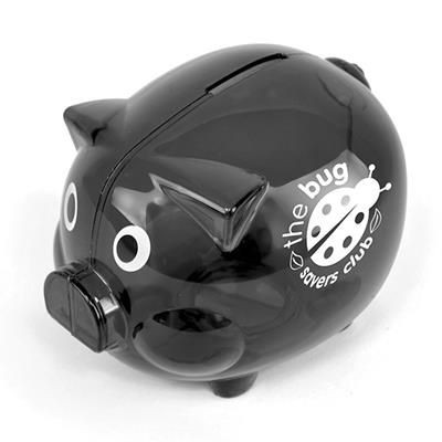 Picture of PIGGY BANK in Black
