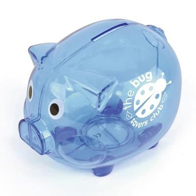 Picture of PIGGY BANK in Blue