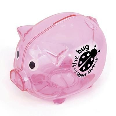 Picture of PIGGY BANK in Pink