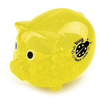 Picture of PIGGY BANK in Yellow