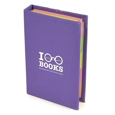 Picture of HARDBACK FLAG PAD in Purple