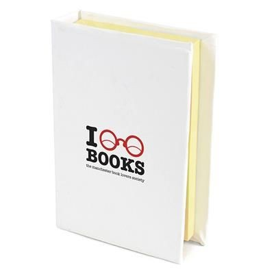 Picture of HARDBACK FLAG PAD in White