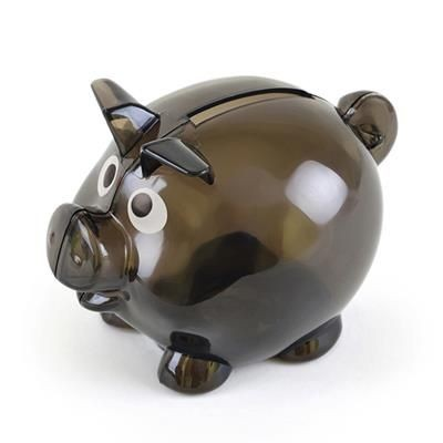 Picture of PIGLET BANK in Black