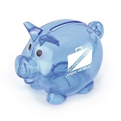 Picture of PIGLET BANK in Blue