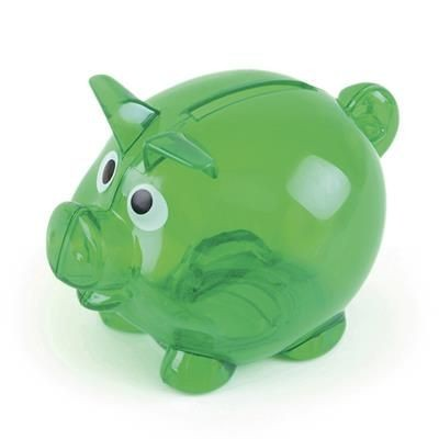 Picture of PIGLET BANK in Green