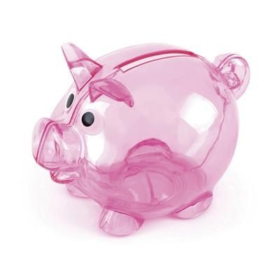 Picture of PIGLET BANK in Pink