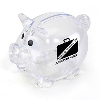 Picture of PIGLET BANK in Translucent