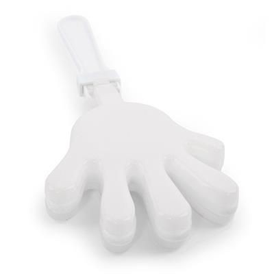 Picture of SMALL HAND CLAPPER in White