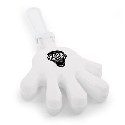 Picture of LARGE HAND CLAPPER in White