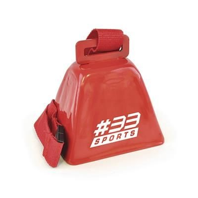 Picture of COW BELL in Red