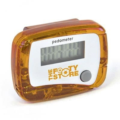 Picture of CARMEL PEDOMETER in Amber