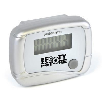 Picture of CARMEL PEDOMETER in Silver