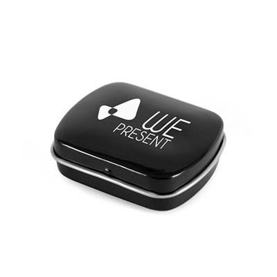 Picture of MICRO RECTANGULAR MINTS TIN in Black