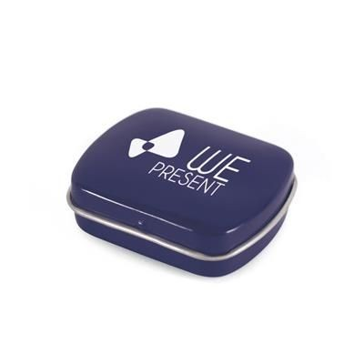 Picture of MICRO RECTANGULAR MINTS TIN in Blue