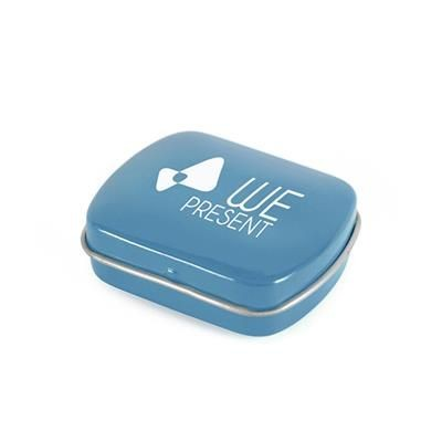 Picture of MICRO RECTANGULAR MINTS TIN in Cyan