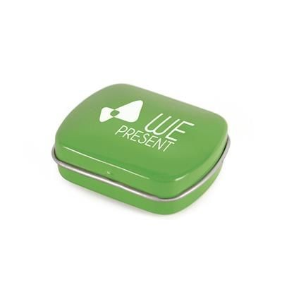 Picture of MICRO RECTANGULAR MINTS TIN in Green