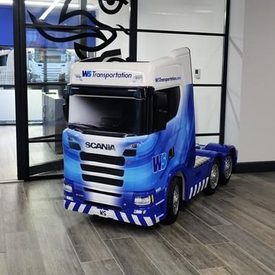 Picture of SCALED RIGS RIDE-ON TRUCK
