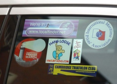 Picture of CAR STICKER