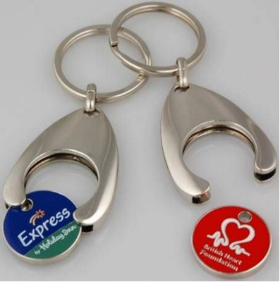Picture of TROLLEY COIN KEYRING