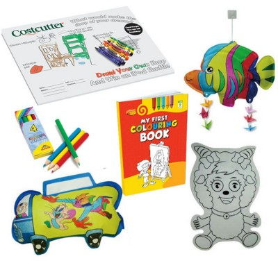 Picture of CHILDRENS COLOURING PACK
