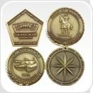 Picture of PROMOTIONAL METAL COIN