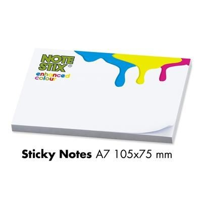 Picture of NOTESTIX A7 ADHESIVE NOTE PAD