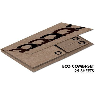 Picture of STICKY NOTE KRAFT ECO COMBISET