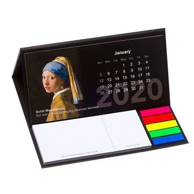 Picture of CALENDAR HARDCOVER STICKY NOTE COMBI