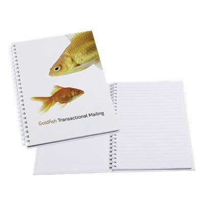 Picture of A5 SPIRAL WIRO BOUND NOTE BOOK FULL COLOUR HARDBACK COVER