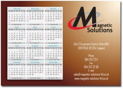 Picture of MAGNETIC CALENDAR