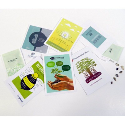 Picture of PERSONALISED SEEDS POCKET