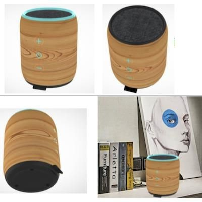 Picture of ECO-WOOD BLUETOOTH BARRELL SPEAKER
