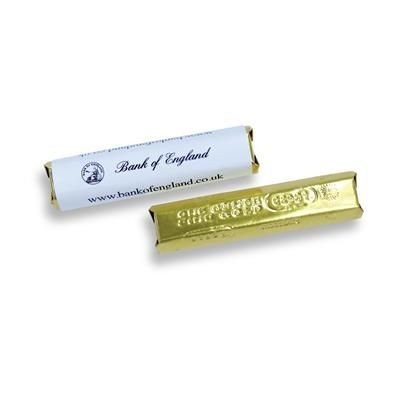 Picture of SMALL CHOCOLATE BAR: 14g Milk Chocolate Bar with Full Colour Personalised Wrapper
