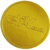 Picture of CHOCOLATE COIN in Gold Foil