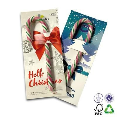 Picture of CANDY CANE CARD