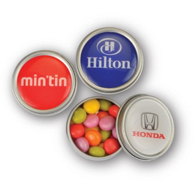 Picture of MINI MINTS TIN in Silver