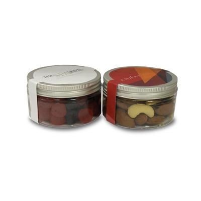 Picture of SMALL CLEAR TRANSPARENT SWEETS POT