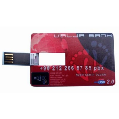 Picture of USB MEMORY STICK in Credit Card Shape