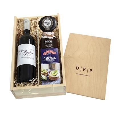 Picture of WINE, CHEESE & CHUTNEY CRATE