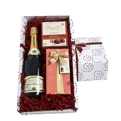 Picture of CHAMPAGNE, CHOCOLATE & TRUFFLES GIFT BOX