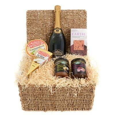 Picture of THE MENTON CHEESE & WINE HAMPER