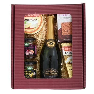 Picture of THE MENTON CHEESE & WINE GIFT BOX