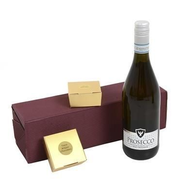 Picture of PROSECCO, CHOCOLATE & TRUFFLES GIFT BOX