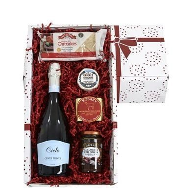 Picture of GOATS CHEESE & WINE GIFT BOX
