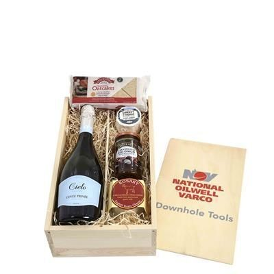 Picture of GOATS CHEESE & WINE CRATE