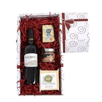 Picture of WINE, CHEESE & PATE GIFT BOX