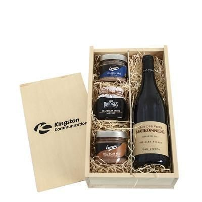 Picture of WINE & PATE CRATE