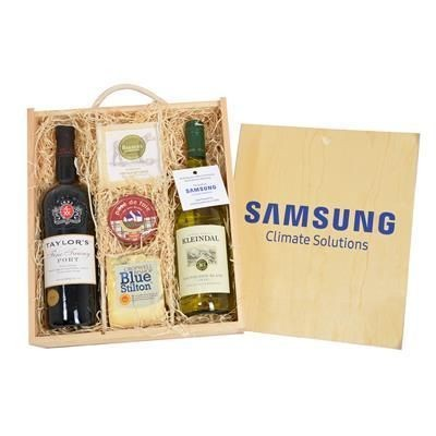 Picture of PORT, WINE, CHEESE & PATE CRATE