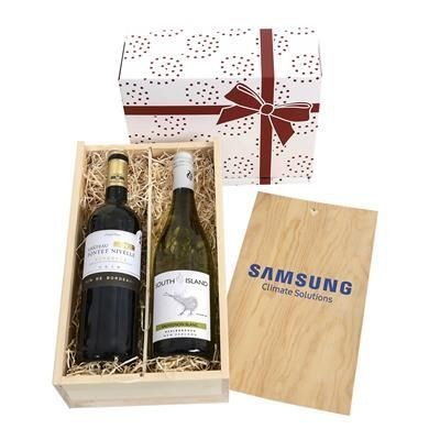 Picture of WINE TASTINGS 2019 TWO-BOTTLE WINE GIFT BOX